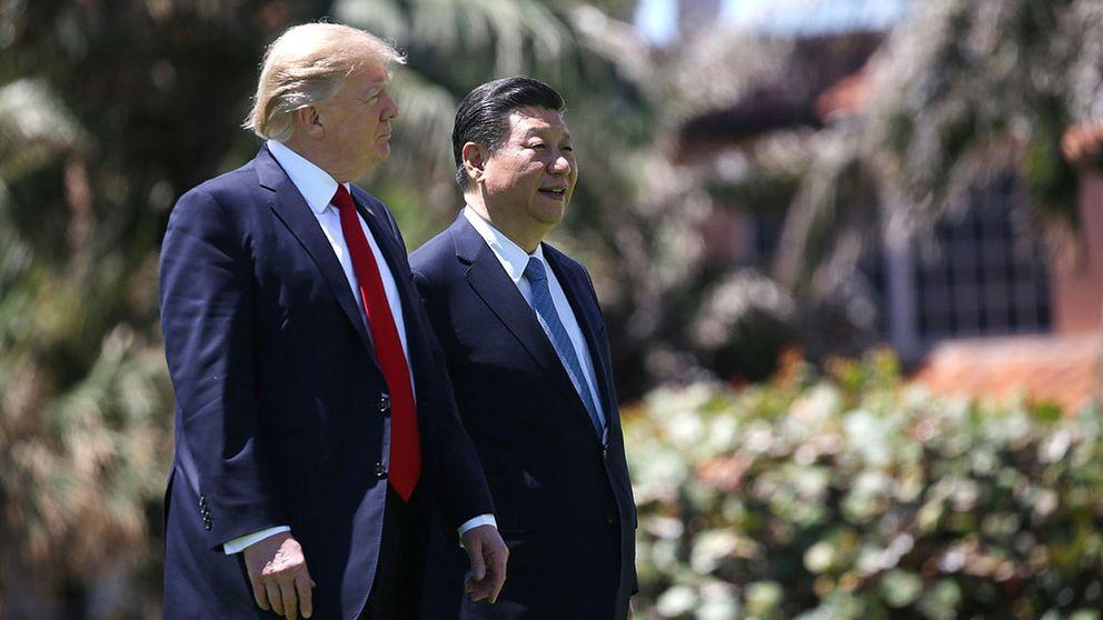 USA:s President Donald Trump och Kinas President Xi Jinping.