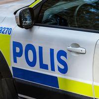 En exteriörbild på en polisbil