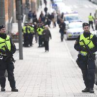 Poliser Stockholm terror
