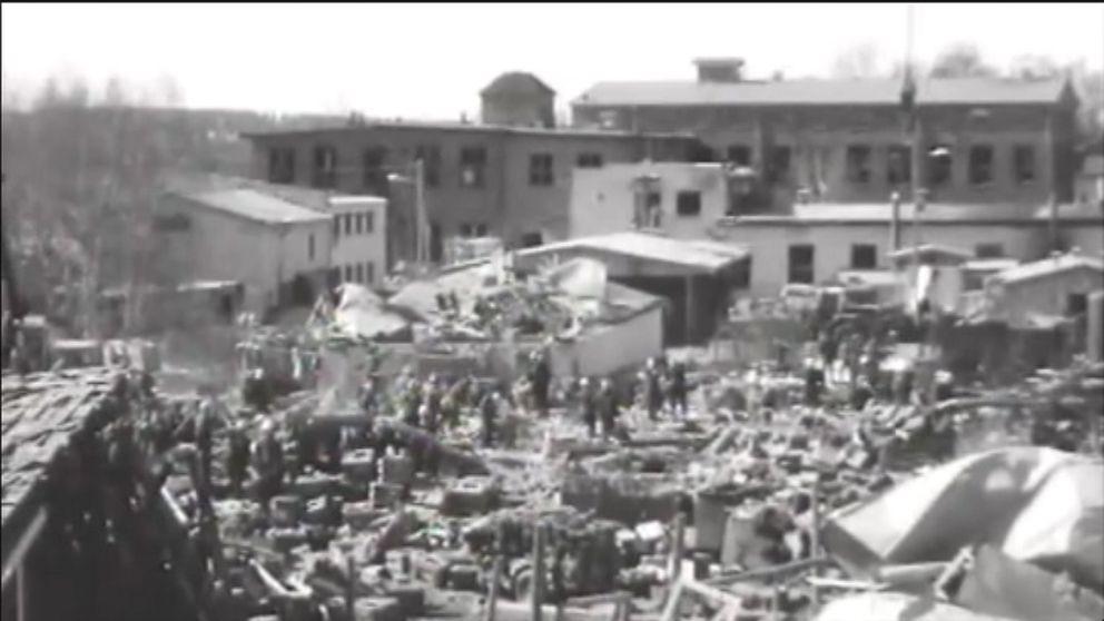 Lapuan patruunatehtaan räjähdys surmasi 40 ihmistä ja aiheutti suuret aineelliset tuhot.