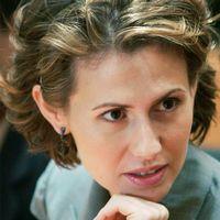 Presidentparet i Syrien, Asma och Bashar al-Assad.