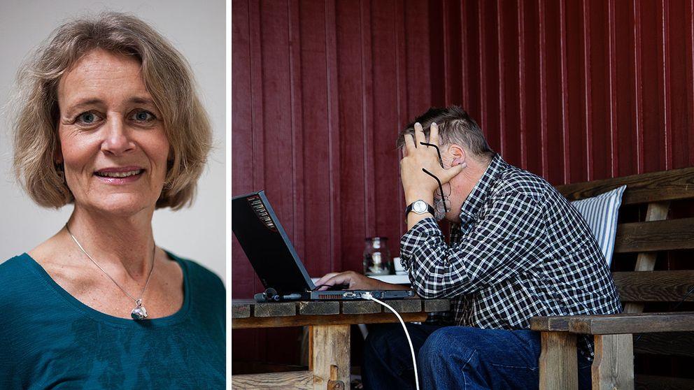 Catharina Strid tror att behandlingar över nätet kommer att bli allt vanligare.