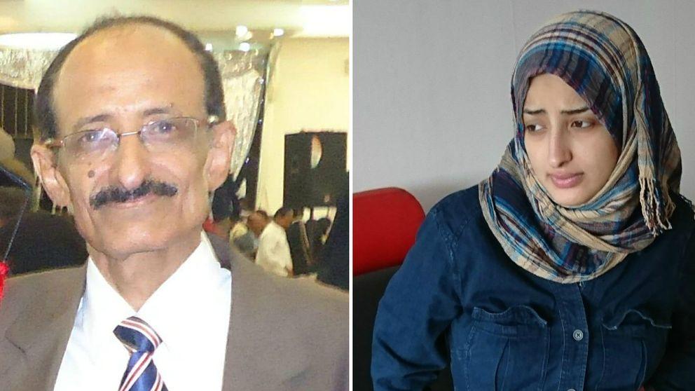 """Enligt Bushra Yahya al-Jubaihi, hämtades hennes pappa från sin bostad i Sanaa för att """"svara på frågor"""". Sedan dess har hon inte hört hans röst."""