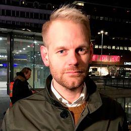 Erik Johansson, pressansvarig vid Trafikkontoret