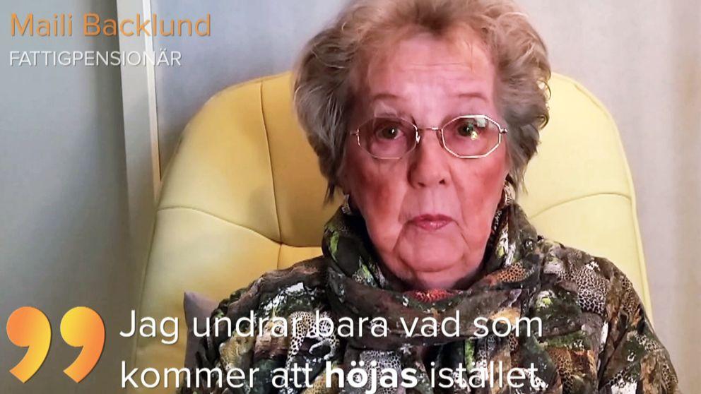 Fattigpensionären Maili Backlund
