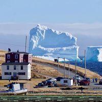 Isberget i Kanada