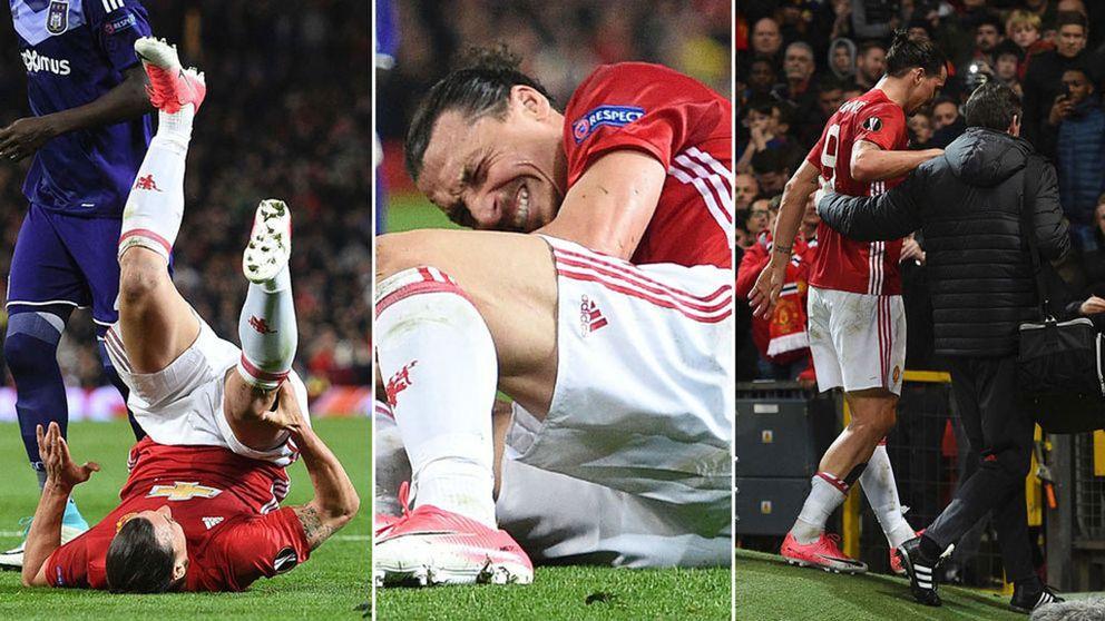 Zlatan skadad – United till semi