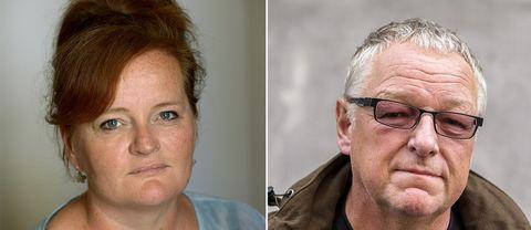 Dorthe Nors (Danmark) och Roy Jacobsen (Norge).