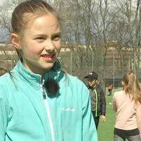 Eleverna på Sverigefinska skolan testade boboll