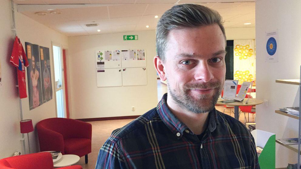 Jonas Blomqvist, idrottskonsulent Smålandsidrotten i Växjö.