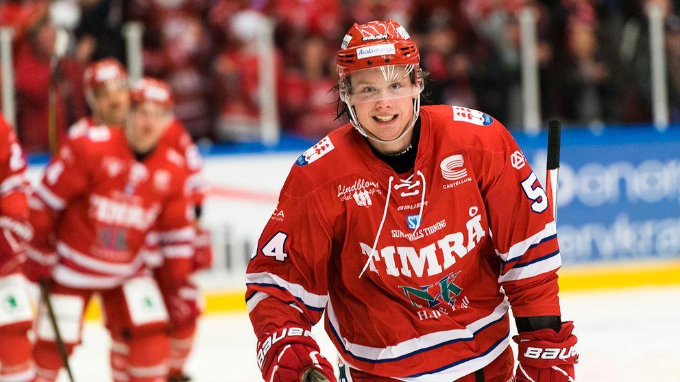 JVM-stjärnan Jonathan Dahlén har fått rookiekontrakt med Vancouver Canucks.