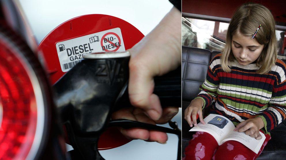 Studie visar att diesel kan skada barns hjärnor.