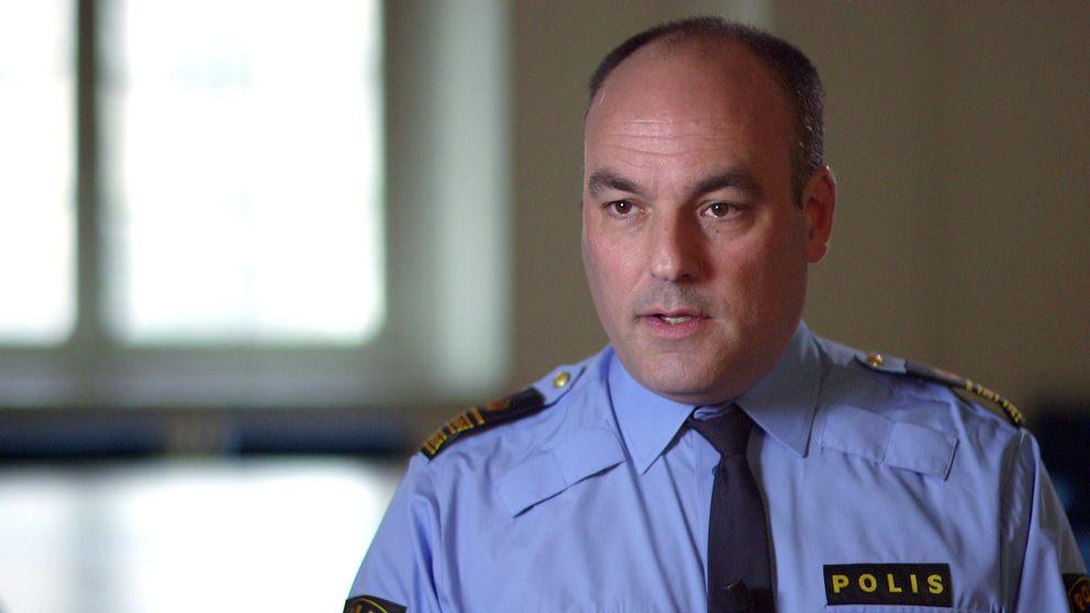Patrik Engström chef för nationella gränspolissektionen.
