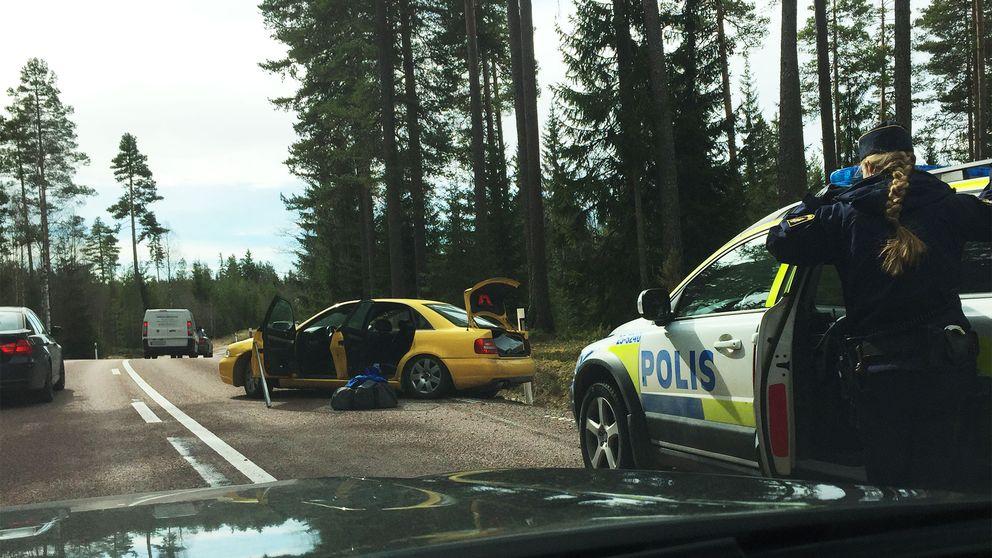 Aring i vild finsk biljakt