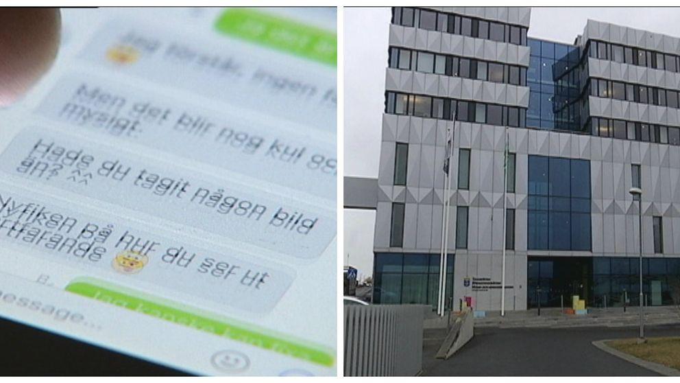 Sexuellposering Jönköpings tingsrätt