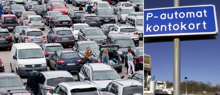 parkering, p-automat
