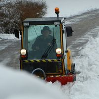 Detta är dagen efter snöovädret i Malung