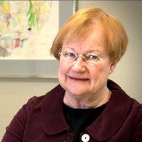 Tarja Halonen, Finlands president 2000-2012