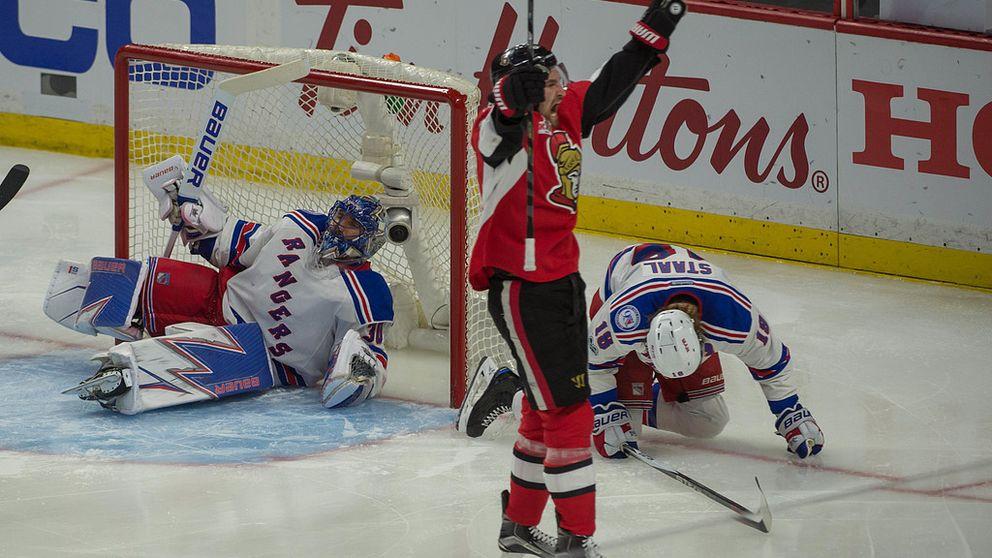 Lundqvist släppte in sex mål mot Ottawa - Sport   SVT.se