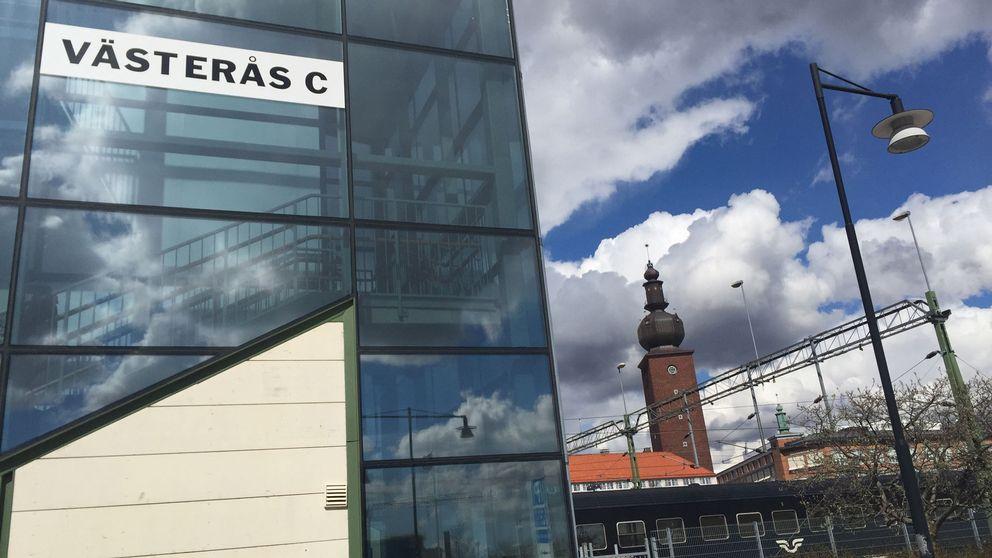 Centralstation, tågstation Västerås central, tågförseningar,