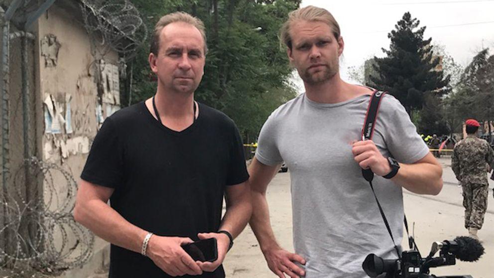 Stefan Åsberg och Niclas Berglund.