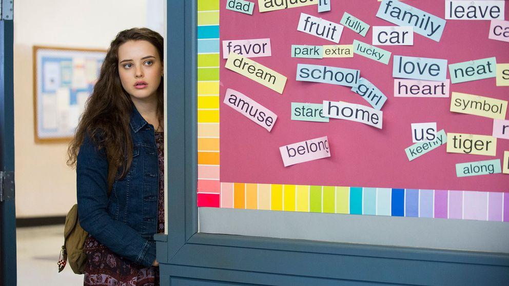 """Katherina Langford som Hanna Baker i """"13 reasons why""""."""