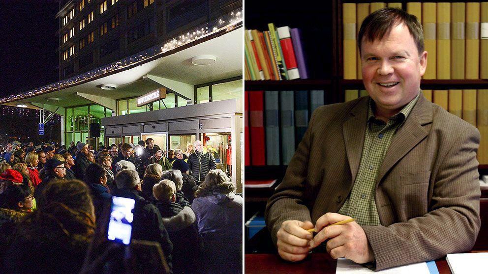 Per Herrey anordnar manifestation till stöd för BB i Sollefteå