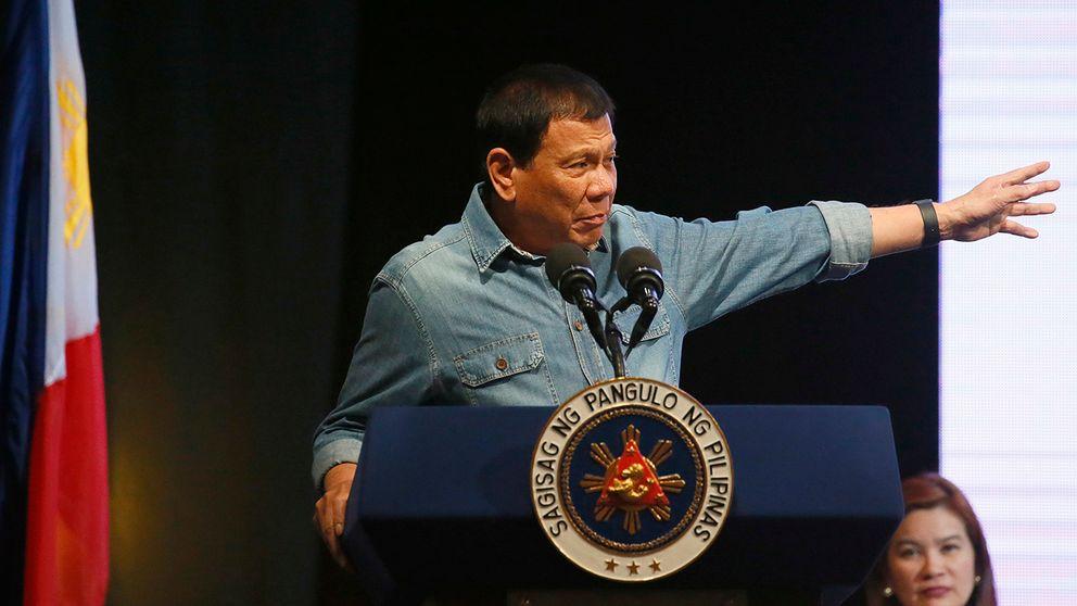 Kriget mot knarket i filippinerna