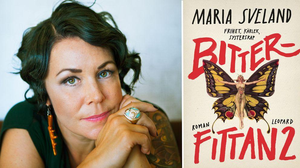 Maria Sveland/ omslag till Bitterfittan 2