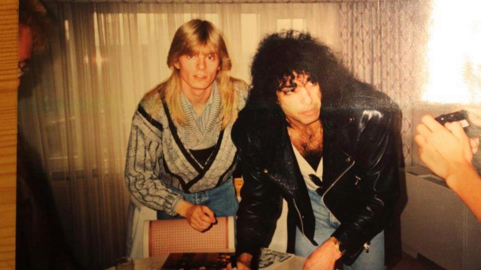 SVT träffade fanet Peter Ahlborg redan 1996. Då hade han sett Kiss ett dussintal gånger.