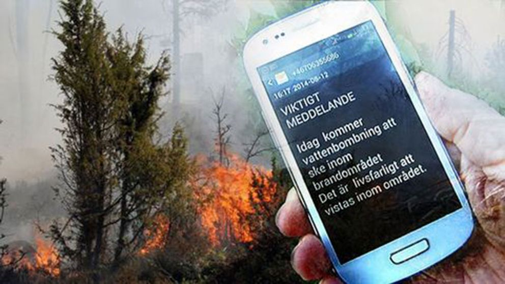 Nu kan alla få VMA via SMS