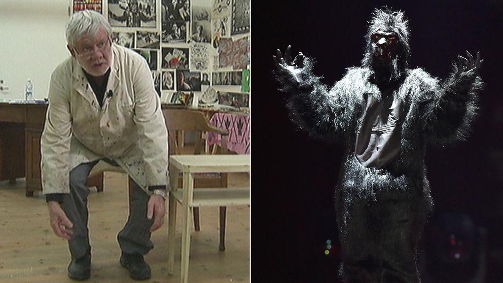 Carl Johan De Geer recenserar Italiens Eurovision-gorilla