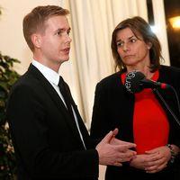 MP:s språkrör Gustav Fridolin och Isabella Lövin