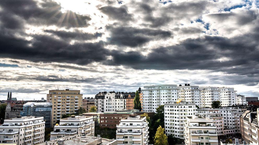 Bild på bostäder.