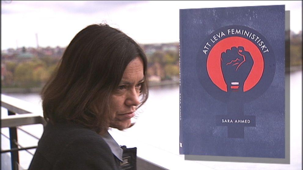 """Sara Ahmed är aktuell med sin nya bok """"Att leva feministiskt"""""""