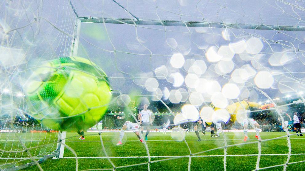 Fotbollsmål.