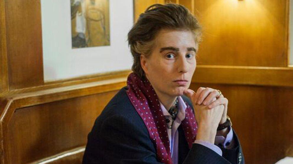 "Louise Löwenberg i rollen som Thommy Berggren i ""Den störste""."