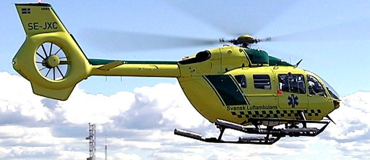 Arkivbild, ambulanshelikopter