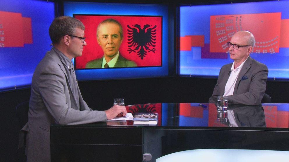 """Peter Kadhammar intervjuas om sin bok """"Vi som var så lyckliga!"""""""