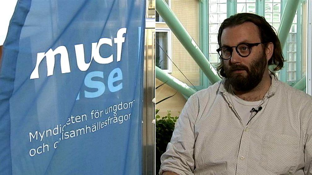Johnny Lindqvist, kommunikationschef för MUCF