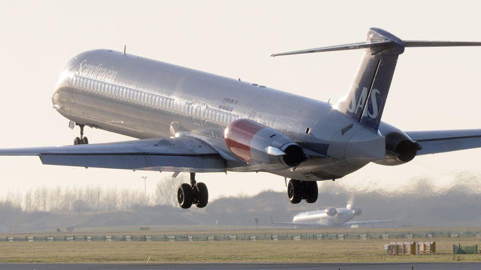 Ett annat SAS-flyg, på väg att lyfta från Kastrup i Köpenhamn. Arkivbild.