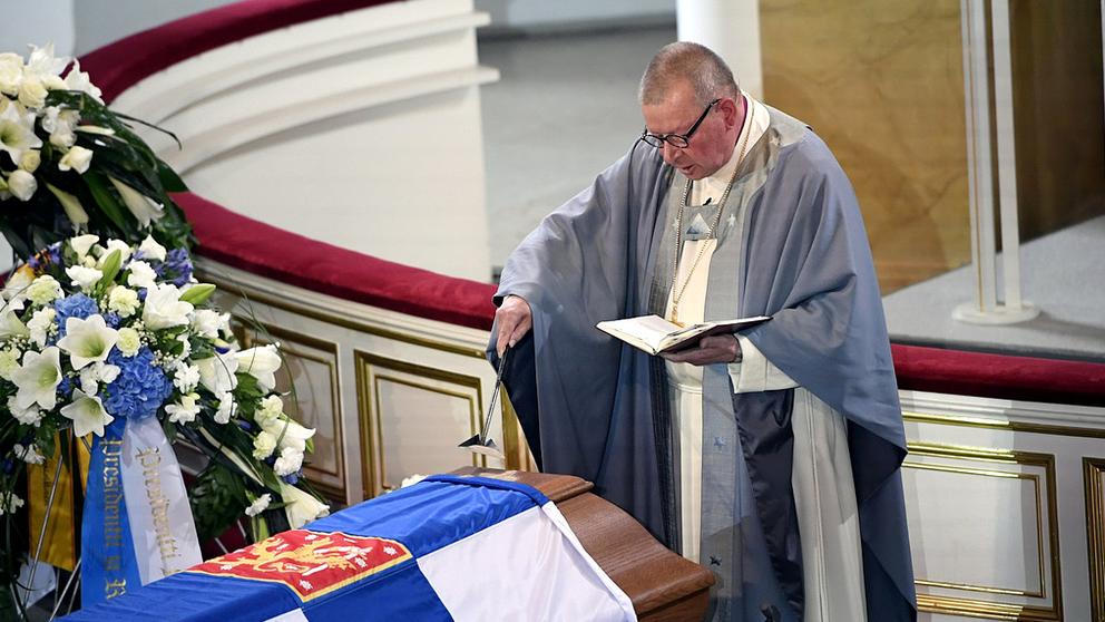 President Mauno Koivistos begravning