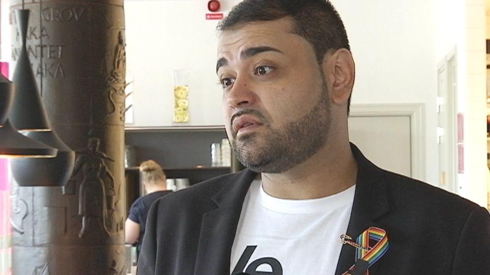 Neema Bahrami överlevde masskjutningen i Orlando.