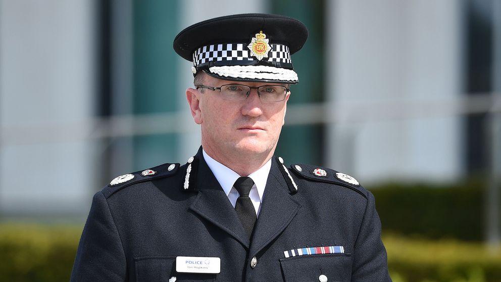 Manchesterområdets polischef Ian Hopkins