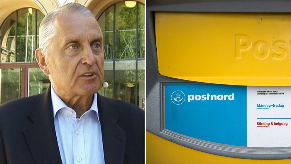 Sten Selander, chef för postavdelningen på Post och telestyrelsen (PTS).