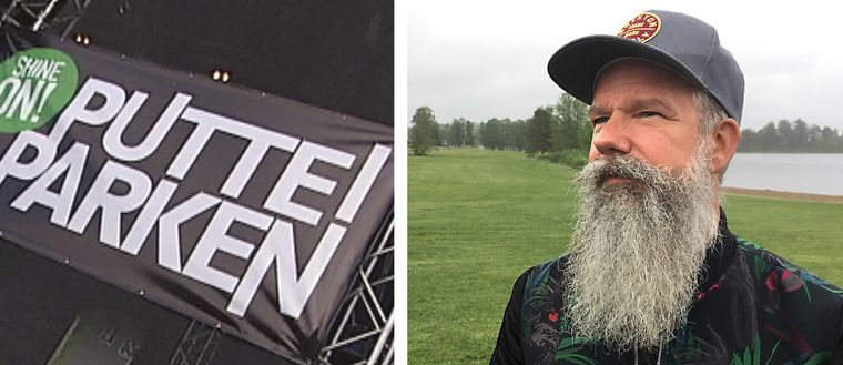 Niclas Lagerstam är festivalgeneral för Putte i parken.