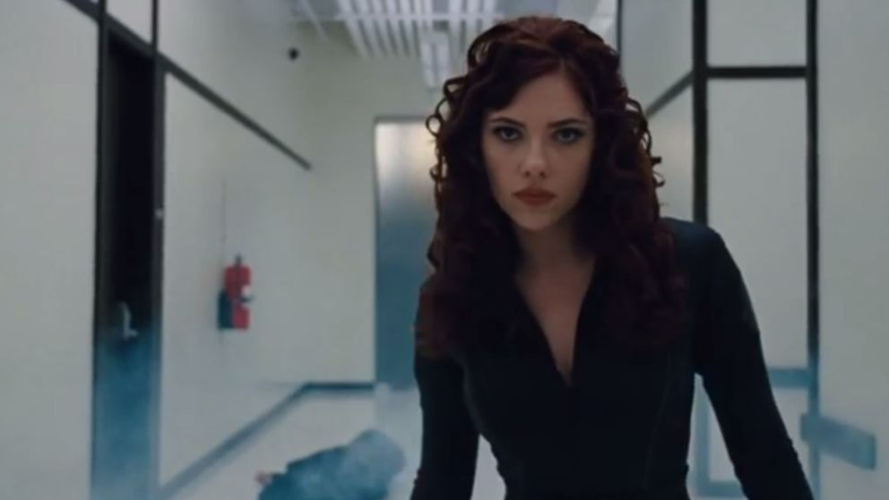 Scarlett Johansson som The Black Widow