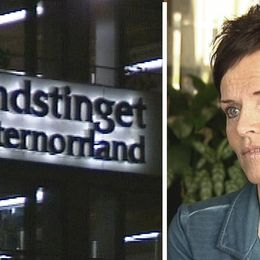 Landstinget västernorrland och Lena Thelin tidigare personaldirektör.