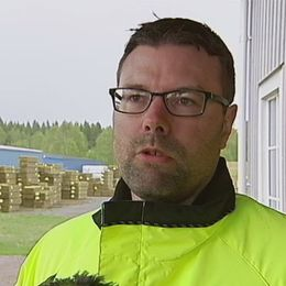 Stefan Bylander, platschef på SCAs anläggning i Stugun.