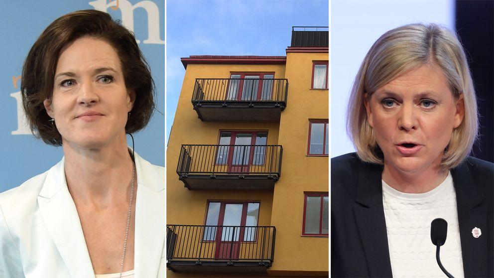 I dag menar alla partier utom S och M att minskade ränteavdrag är en viktig del av lösningen på bostadskrisen.